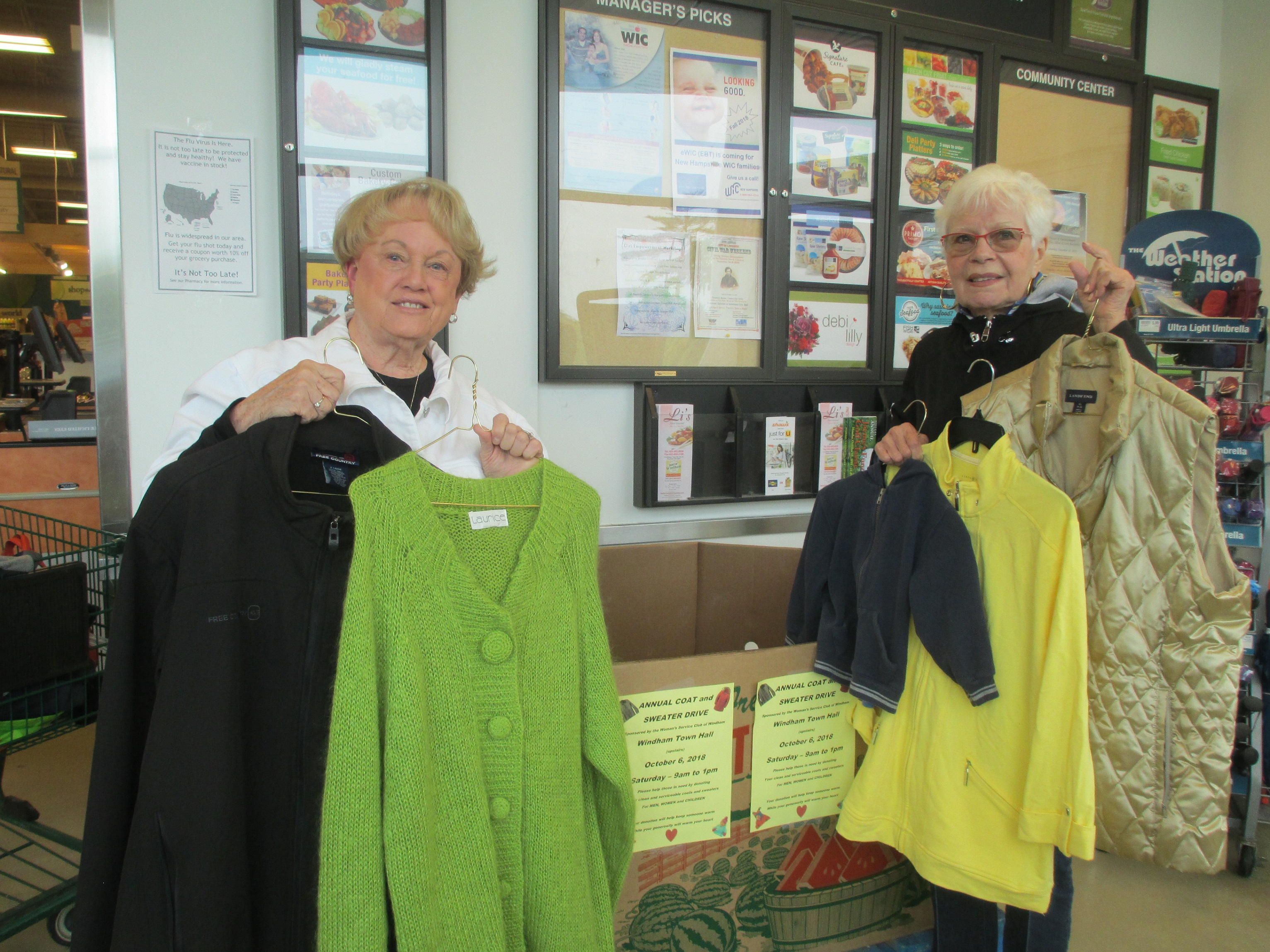 2018 COAT DRIVES BRINGS 1,475 ITEMS TO FAMILIES!
