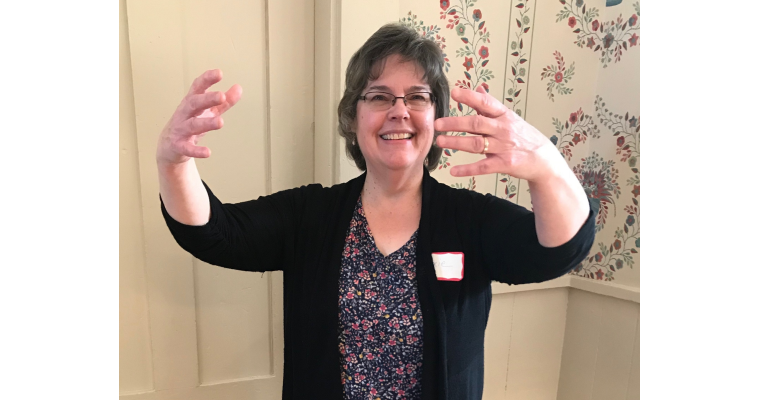 FEBRUARY GUEST SPEAKER DEMONSTRATES ANCIENT ASIAN EXERCISES
