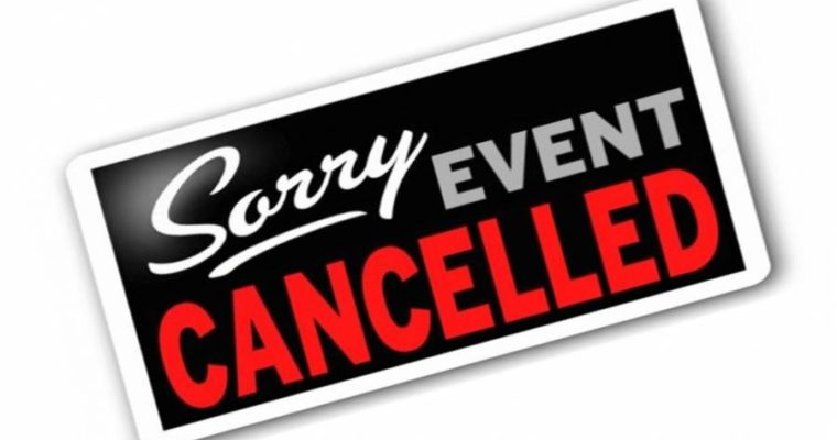 APRIL 1 WSCW MEETING CANCELED