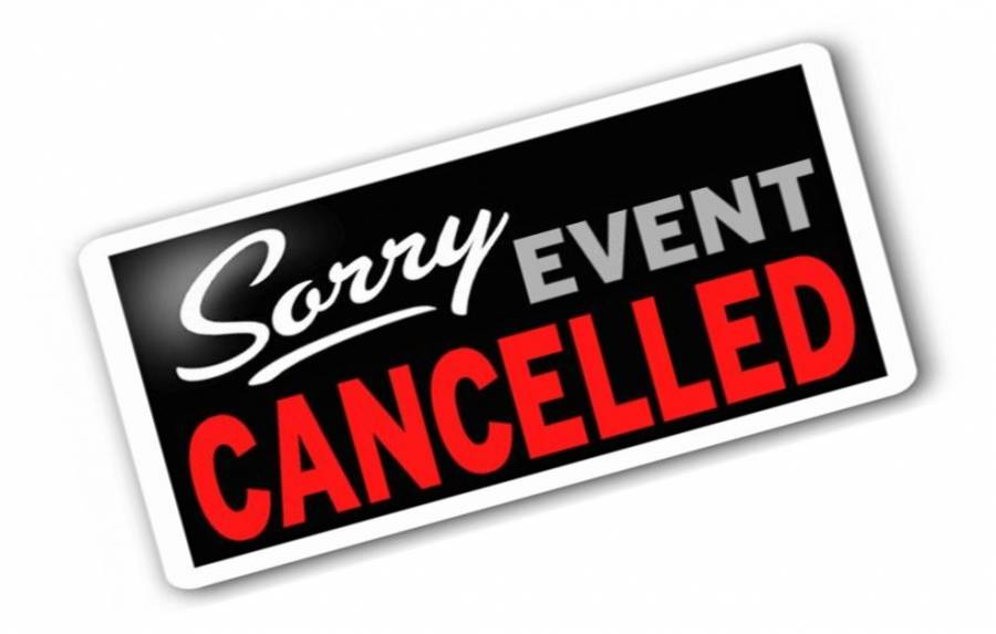 MAY 6 WSCW MEETING CANCELLED
