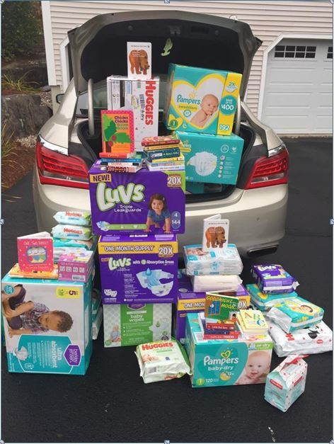 DIAPERS AND BOARD BOOKS FOR WOMEN VETS
